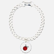 LADYBUG APPLIQUE Bracelet