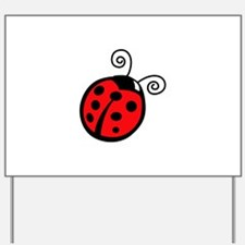 LADYBUG APPLIQUE Yard Sign