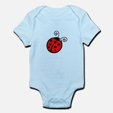 LADYBUG APPLIQUE Body Suit