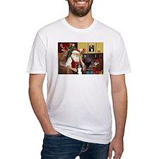 Santa's Border Collie Shirt