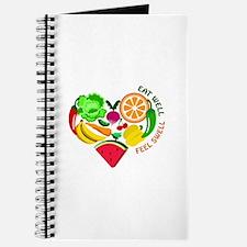 eat well feel swell Journal