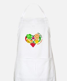 eat well feel swell Apron