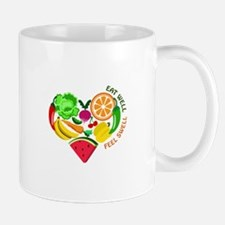 eat well feel swell Mugs