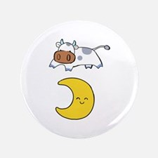 """cow jumping over moon 3.5"""" Button"""