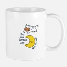 cow jumped over the moon Mugs