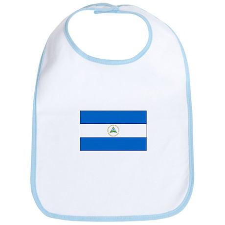 Nicaragua Flag Bib