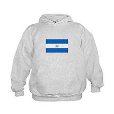 Nicaragua Flag Hoodie