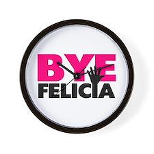 Bye Felicia Hand Wave Wall Clock