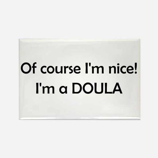 Doula Rectangle Magnet