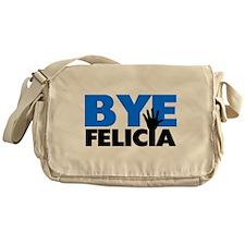Bye Felicia Hand Wave Bold Blue Messenger Bag