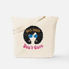 Big Hair Dont Care Tote Bag