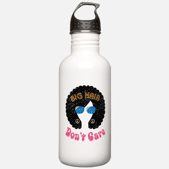 Big Hair Dont Care Water Bottle