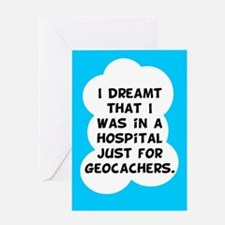 Geocaching Get Well Greeting Card