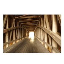Covered Bridge 3 Postcards (Package of 8)