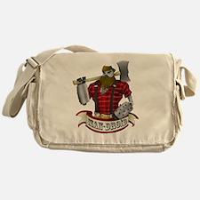 Man-Droid Messenger Bag
