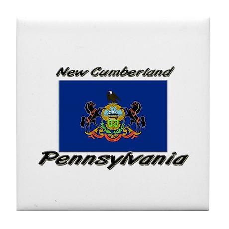 New Cumberland Pennsylvania Tile Coaster