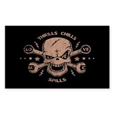 Thrills, Chills, Spills Decal