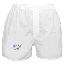 SAVE THE SHARK Boxer Shorts