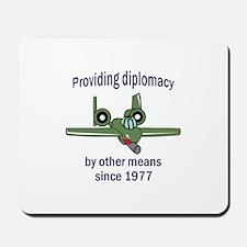 WARTHOG DIPLOMACY Mousepad