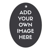 Customized photo Oval Ornaments