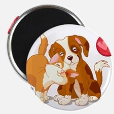 Cat and Dog Pals Magnets