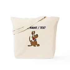 Custom Happy Dog Tote Bag