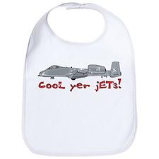 Cool Yer Jets - red Bib