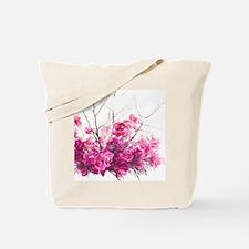 Serene Pink Phalaenopsis Orchids Tote Bag