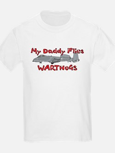 Daddy Flies Warthogs T-Shirt