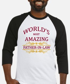 Father-In-Law Baseball Jersey