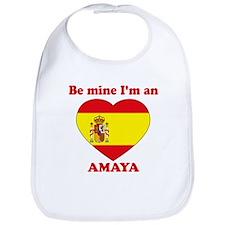 Amaya, Valentine's Day  Bib