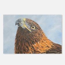 Cute Bird of prey Postcards (Package of 8)