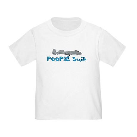 Poopie Suit -blue Toddler T-Shirt