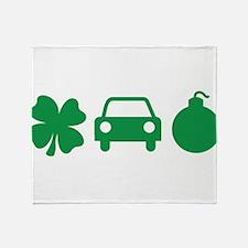 Irish Car Bomb Throw Blanket