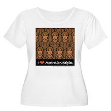 I Love Kelpies Wmn's Plus Size Scoop Neck T-Shirt