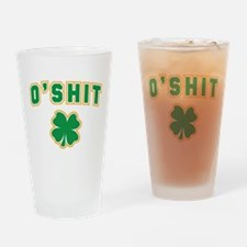 OShit Drinking Glass