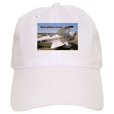 Just plane crazy: Waco aircraft Baseball Cap