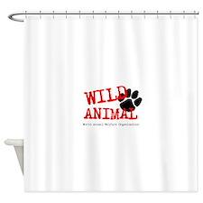 Animal welfare Shower Curtain