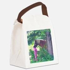 Girl with Horse Canvas Lunch Bag