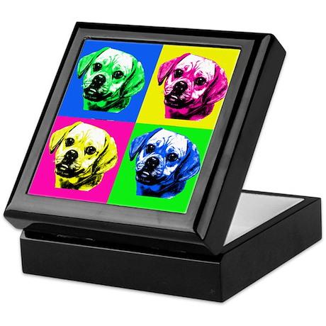 Pop Art Puggle<bR> Keepsake Box