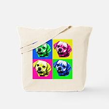 Pop Art Puggle<bR> Tote Bag