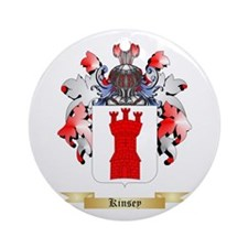Kinsey Ornament (Round)