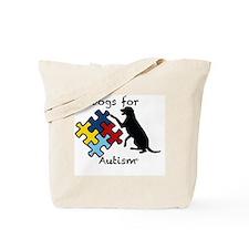 Liz's Service Dog Tote Bag
