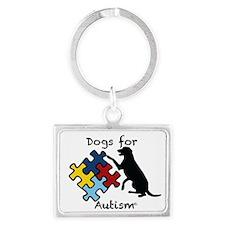 Liz's Service Dog Keychains