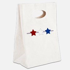 3 Stars Canvas Lunch Tote