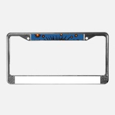Eye Eyeball License Plate Frame
