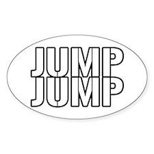 Jump Jump Oval Decal