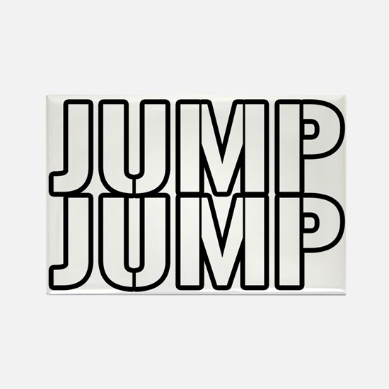 Jump Jump Rectangle Magnet