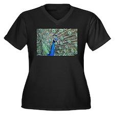Peacock Plus Size T-Shirt