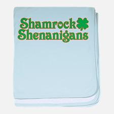 Shamrock Shenanigans baby blanket